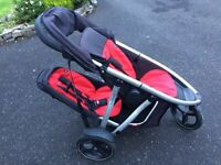 Phil and teds inline vibe double stroller