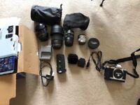 Olympus OM-D E-M5 Mark I kit 12-40mm Zuiko lens and more