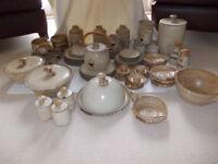 Mushroom Pottery set.