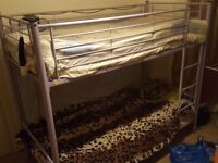 Bunk beds + 2 matrresses