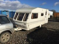 Abi trophy 1996 model 4 berth shower oven 3 way fridge oven hob grill hot and cold running water