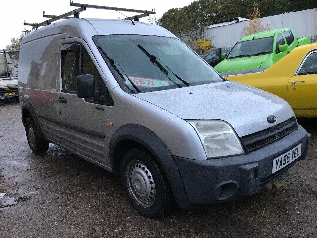 2006 55 reg ford transit connect LWB 1.8 TDDI T220 LX PLUS TDDI.HIGH TOP