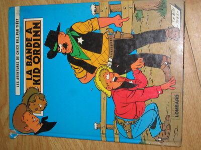 Les Aventures De Chick Bill Tibet - LA BANDE A KID ORDINN  (1978)  Lombard Comic