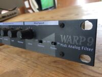 MAM multimode analogue filter Midi Wasp clone, great condition