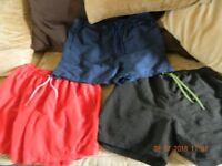 3 pairs mens XL shorts