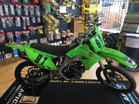 Kawasaki kxf 250 2009 excellent example low use from new