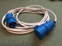 6 metre caravan / motor home electric hook up lead