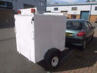 box trailer metal box trailer 4ft by 3ft good condition £150