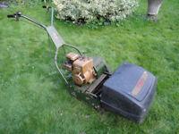 Webb 14inch cylinder petrol lawnmower