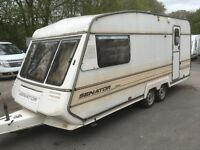BAILEY SENATOR 2000 2 BERTH TWIN AXLE TOURING SPARES OR REPAIRS