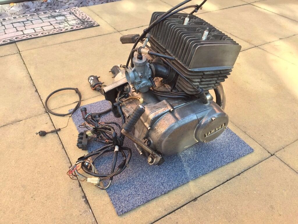 Yamaha 200cc 2 Stroke Engine 1985 Classic REDUCED IN PRICE