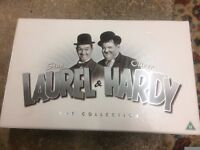 Laurel and Hardy complete mint condition box set
