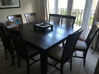 Dining Room Table & Chairs - Large & Square