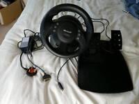 Microsoft Sidewinder Force Feedback Wheel & pedals