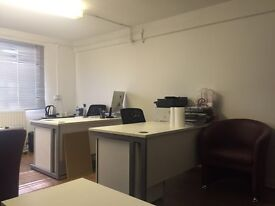 Desk space offered in amazing location, 24 hours access, all bills included, rent immediately
