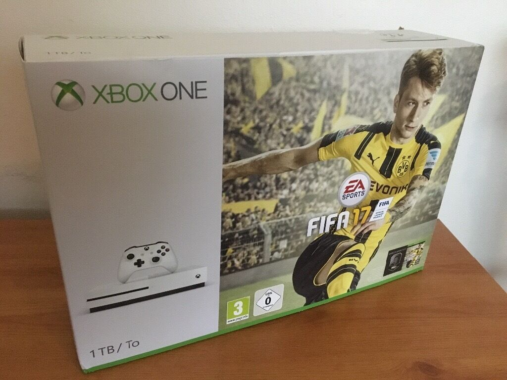 Xbox One S 1TB Version with Fifa 17 Bundle Brand New