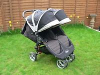 Baby Jogger City Mini Double Buggy - Black