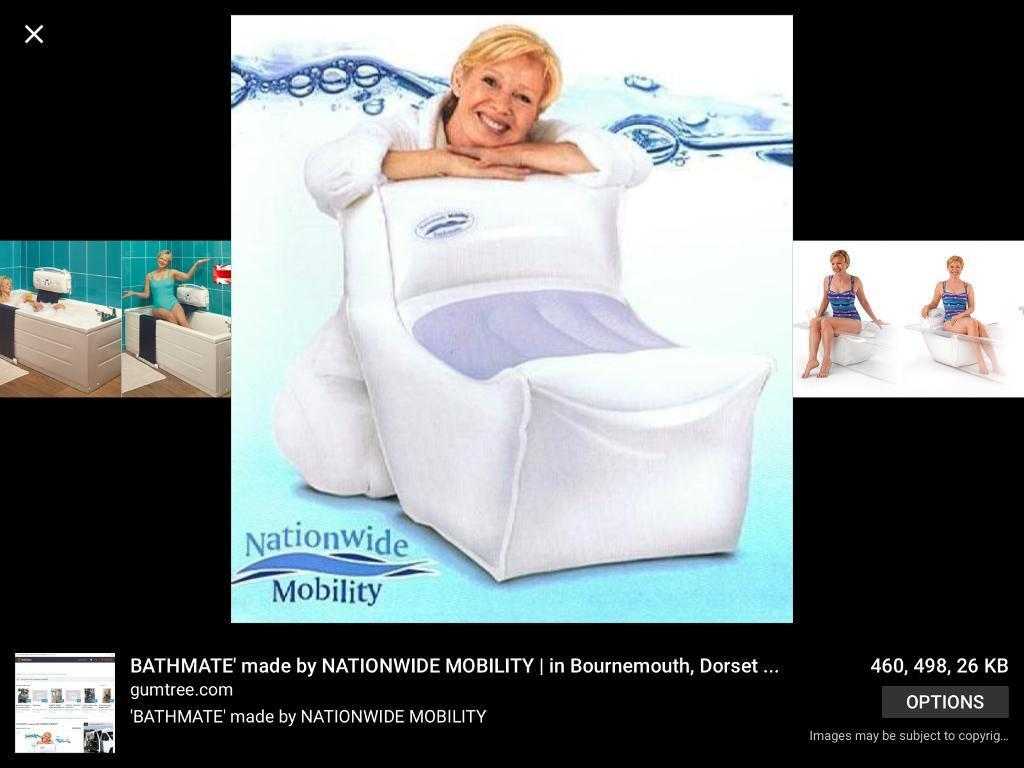 Nationwide Mobility Bathmate Inflatable Bath Seat Lift | in Lydney ...