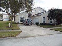 5 BEDROOM 3 BATHROOM HOLIDAY VILLA TO RENT NEAR DISNEYWORLD ETC IN FLORIDA
