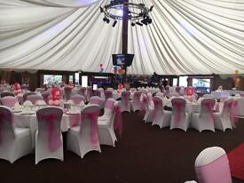 Wedding chair covers for hire