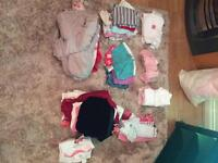 Baby Girls 6-9m clothes
