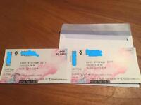 2 x Lost Village tickets - can drop off to you £200!!!