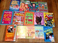 Bundle of children's reading books