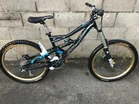 Specialized Status 2 Mountain Bike 1x9 Gears with upgrades
