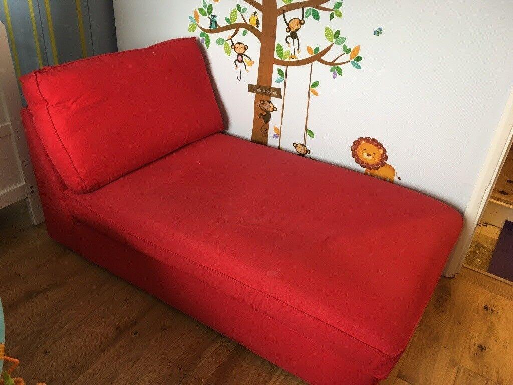 Sensational Ikea Kivik Sofa Chaise Longue Red In Hitchin Hertfordshire Gumtree Uwap Interior Chair Design Uwaporg