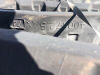 Case cx50b rubber track