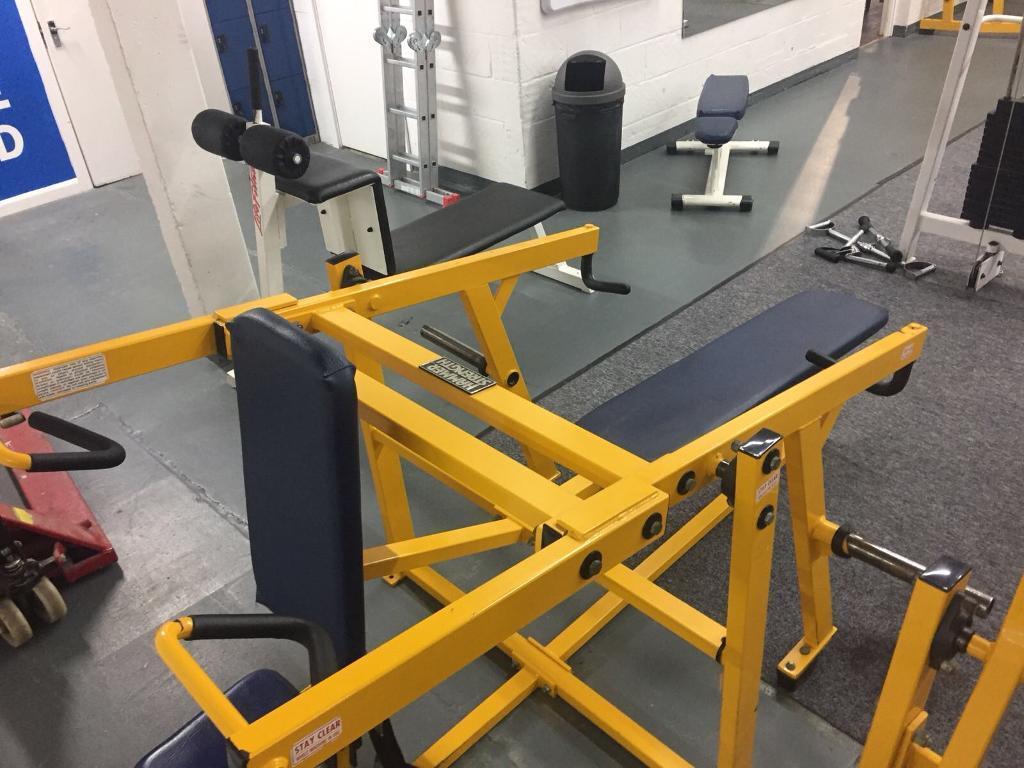 Hammer Strength Chest Press Dip Machine In Chelsea London Gumtree