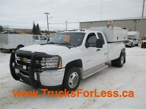 2012 chevrolet 3500 LT 4X4, SLIDE-IN BODY, VMAC!!!