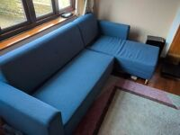 Ikea LUGNVIK Sofa with chaise, bargain price 50