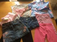 Bundle Girls Clothes Next & M&S. Age 4-5 Years. Excellent Condition