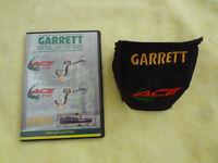 Garrett ace 150 / 250 control box cover and Dvd