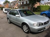 Toyota Corolla 2001 - excellent mechanical condition, very reliable