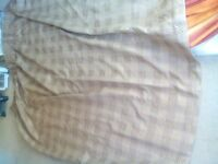 Luxury full length pair of lounge curtains, un-used