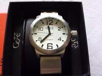 Unisex Oversize Dial Wrist Watch BNWT