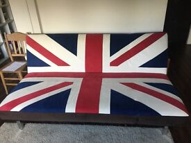 John Lewis Large Sofa and sofa bed in Union Jack style