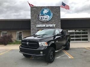 2017 Ram 1500 WOW 2017 WITH ONLY 600KM! MONSTER LIFT! FINANCING