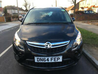 2015 VAUXHALL ZAFIRA 1.8 LOW MILES, NEW PCO LICENCE /ford galaxy/vw sharan/vw touran/toyota previa
