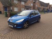 2007 PEUGEOT 307 1.6L WITH 12 MONTHS MOT LOOKS & DRIVES GREAT