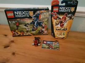 Lego Nexo Knight Sets x3
