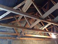 Truss rafters roof - Garage/Workshops