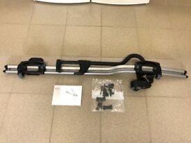 Bicycle holder, frame mounted, aluminium - Volvo Branded - As New Condition - T-Track Mounting Kit