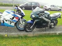 Swop the pair for fast bike