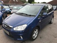 2011/11 FORD C-MAX 1.6 ZETEC 5DR BLUE LOW MILEAGE,GOOD CONDITION,LOOKS AND DRIVES WELL