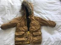 GAP winter duffle coat, size 2 years