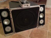 Logitech speakers 2.1 z4 40w