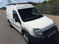 2004 54 plate Ford Transit Connect L230 D 3 Way Loader Hi top long MOT with Roof Rack very clean